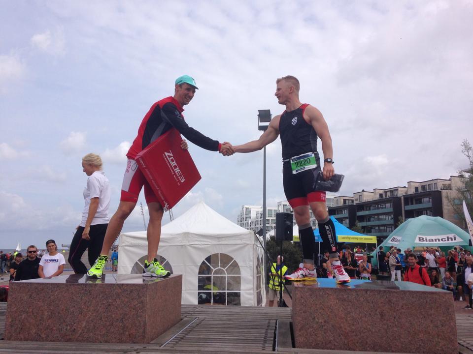 """På """"prispallen"""" med Rasmus"""